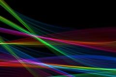 绘发光五颜六色为背景 库存图片