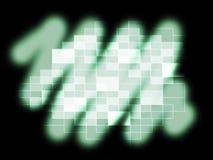 发光模糊的映象点样式的展示模糊或反射 向量例证
