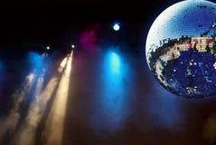 发光球的迪斯科 免版税库存图片