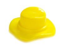 发光瓶盖的塑料 免版税库存图片