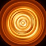 发光的同心圆 与不可思议的火热的roun的传染媒介样式 库存图片