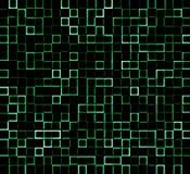 发光的块纹理样式 免版税库存照片