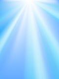 发光的天空 免版税库存图片