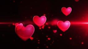 发光的心脏形状