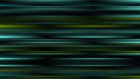 发光的抽象黑暗的绿松石镶边录影动画 库存例证
