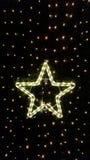 发光的星形 免版税库存图片