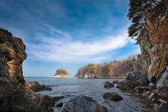 发光的海岛 库存图片