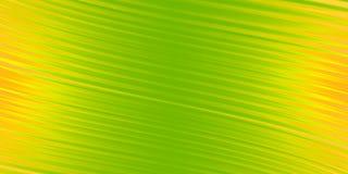 发光的绿色曲线在金黄背景中 免版税库存照片