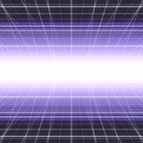 发光的网络栅格 免版税图库摄影