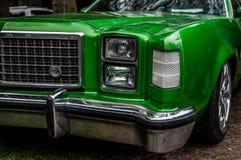 发光的美国汽车 图库摄影