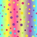 发光的花纹花样 1866根据Charles Darwin演变图象无缝的结构树向量 免版税库存照片