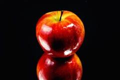 发光的苹果 图库摄影