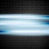 发光的蓝色传染媒介背景 库存图片