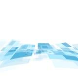 发光的行动技术传染媒介背景 免版税库存照片