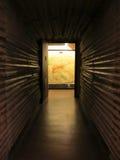发光的走廊 免版税库存照片