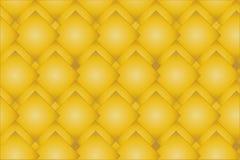 发光的金菱形样式 库存例证
