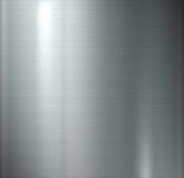 发光的银色背景 免版税库存图片