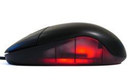 发光的鼠标 图库摄影