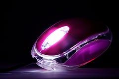 发光的鼠标 库存照片
