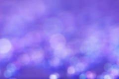 发光的blured紫罗兰色背景 免版税库存图片
