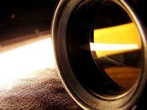 发光透镜 库存图片