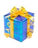 发光配件箱的礼品 免版税库存照片