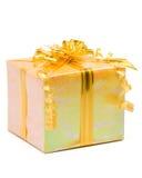 发光配件箱的礼品 库存图片