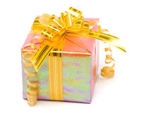 发光配件箱的礼品 免版税库存图片