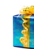 发光配件箱的礼品 库存照片