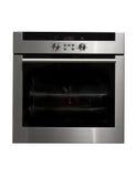 发光金属的烤箱 免版税库存图片