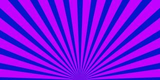 发出光线背景紫色蓝色 库存照片