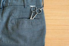 头发切割工具 免版税库存图片