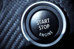 发动您的引擎 免版税库存照片