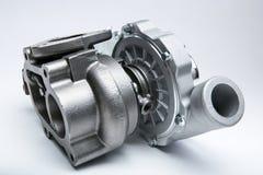 发动机涡轮压缩机  免版税库存图片