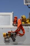 发动机起火水管 免版税库存图片