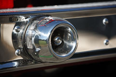 发动机起火警报器 免版税库存图片