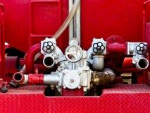 发动机起火 库存照片