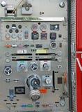 发动机起火 库存图片