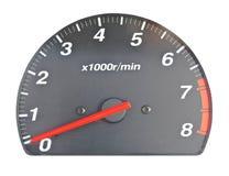 发动机速度缩放比例  库存照片