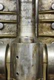 发动机阀细节和第二艘战争世界潜水艇 免版税库存图片