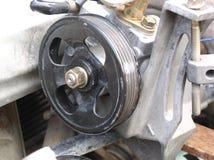 发动机零件泵 库存照片