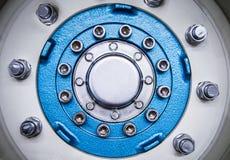发动机零件细节 免版税库存照片