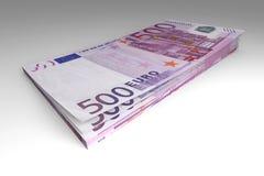 发单欧元 免版税图库摄影