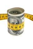 发单美元经济程序包符号磁带 库存照片