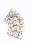 发单美元 库存照片