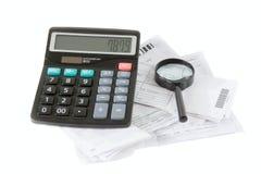 发单计算 免版税库存照片