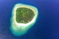 发咩声环礁,马尔代夫 库存照片