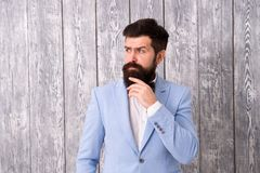 发型和胡子修饰 E 绅士样式理发师 理发店包裹的提议范围新郎的 图库摄影