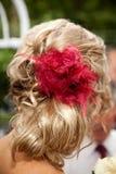 发型婚礼 免版税库存图片