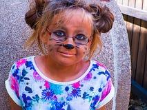 发型指向童年喜悦假日 免版税库存图片